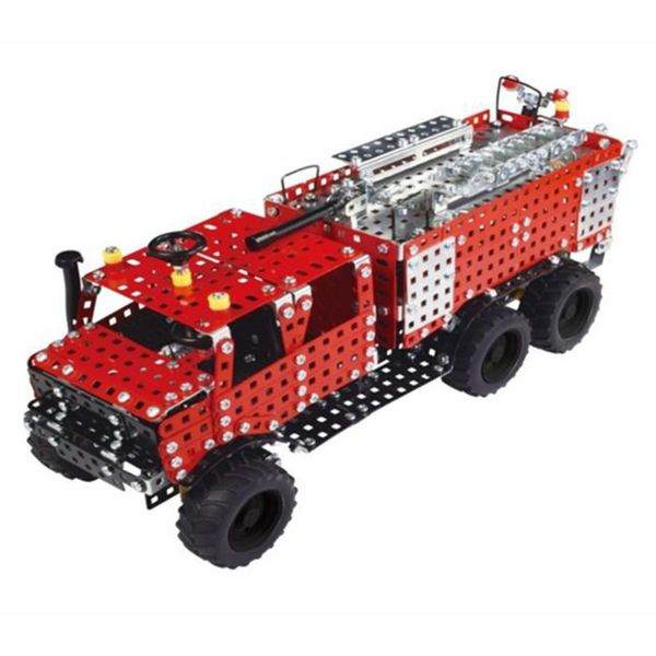 Метален конструктор - Пожарникарски камион